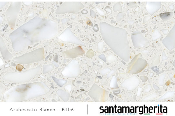 arabescato bianco - konglomerat marmurowy
