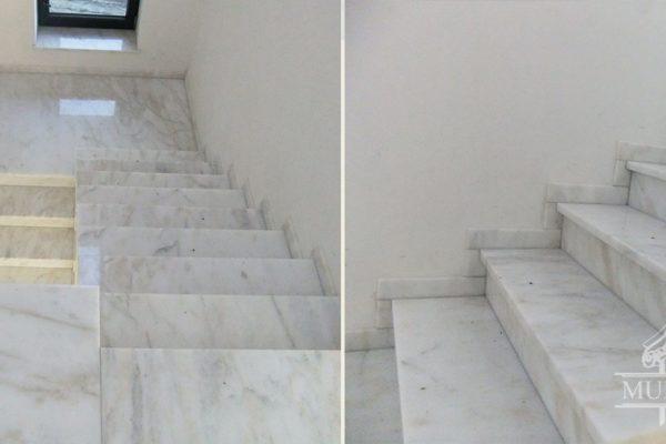 biale schody