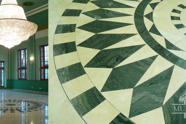 kamienna mozaika