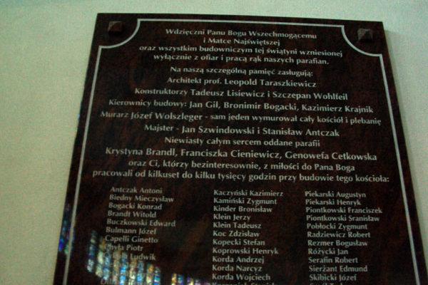 tablica pamiatkowa