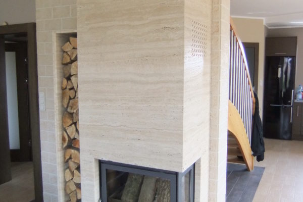 big modern fireplaces made trawertine
