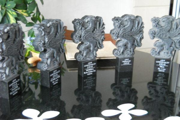 nagrody z kamienia