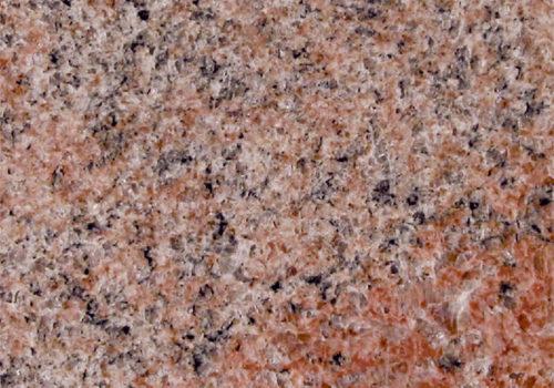 granit multicolor red