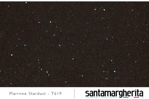 marrone stardust - konglomerat kwarcowy