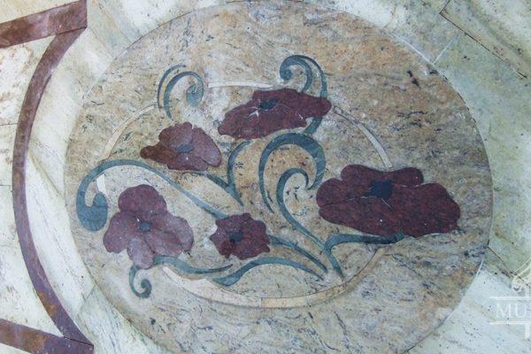mozaika marmur