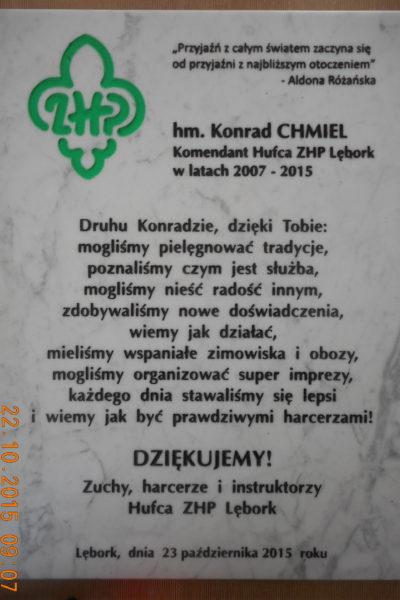 tablica pamiątkowa z kamienia